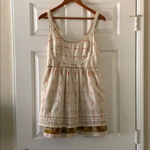 Free People New Romantics Weather Vane Ikat Dress